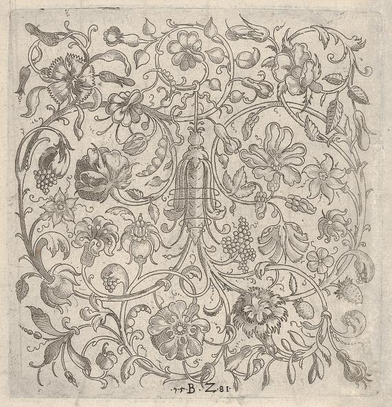 Ornate「Square Panel With Vegetal Scrollwork」:写真・画像(4)[壁紙.com]