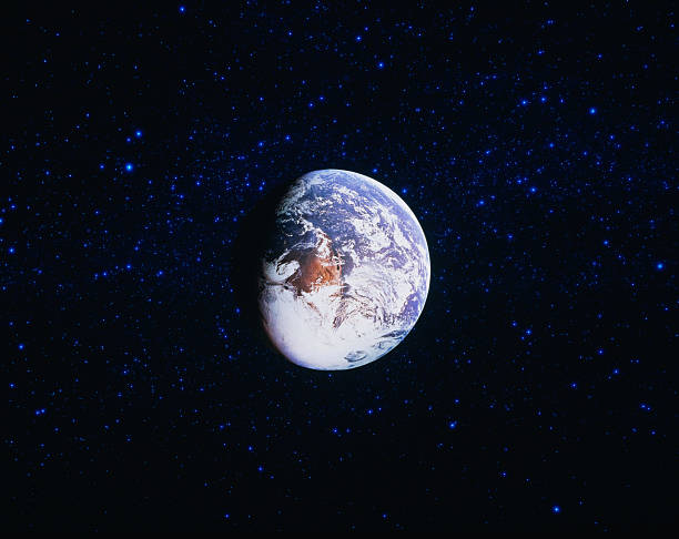 Earth viewed from Space:スマホ壁紙(壁紙.com)