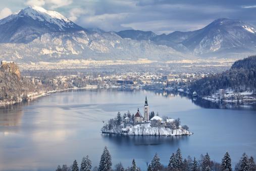 Slovenia「Bled Island」:スマホ壁紙(12)
