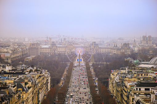Boulevard「Amazing views from the sunny streets of Paris.」:スマホ壁紙(1)