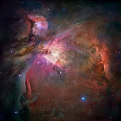 Hubble Space Telescope「Orion Nebula」:スマホ壁紙(2)