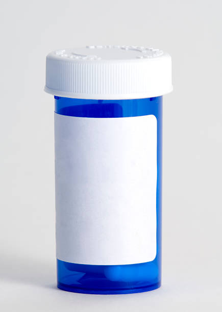 Blue plastic medicine container:スマホ壁紙(壁紙.com)