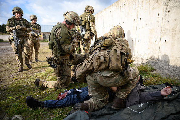 Department Of Defense「British Army Exercises Ahead Of UN Peacekeeping Operation」:写真・画像(8)[壁紙.com]