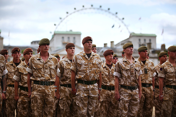 Famous Place「Coldstream Guards Honour Troops In Afghanistan With March Through London」:写真・画像(8)[壁紙.com]