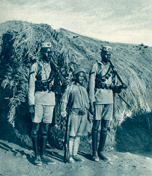 British Empire「Soldiers in British East Africa during World War 1」:写真・画像(9)[壁紙.com]