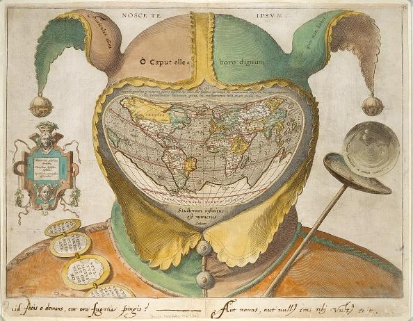16th Century「Fool?S Cap World Map」:写真・画像(11)[壁紙.com]