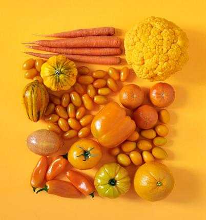 Orange - Fruit「Orange fruits and vegetables」:スマホ壁紙(19)