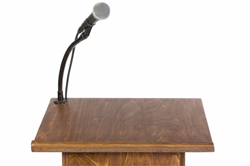 Speech「Podium」:スマホ壁紙(11)