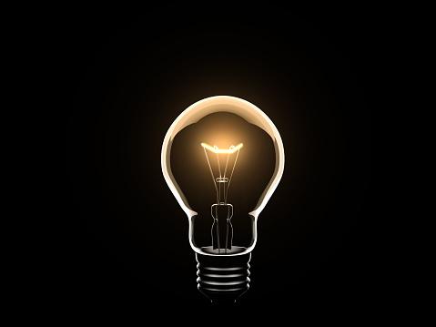 Glowing「Light Bulb」:スマホ壁紙(3)
