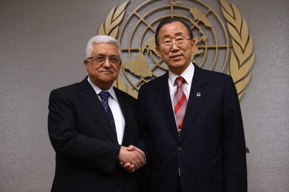 United Nations Building「United Nations Secretary General Ban Ki-Moon Meets With Palestinian President Abbas」:写真・画像(8)[壁紙.com]