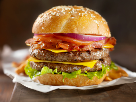 Burger「Double Bacon Cheeseburger」:スマホ壁紙(3)