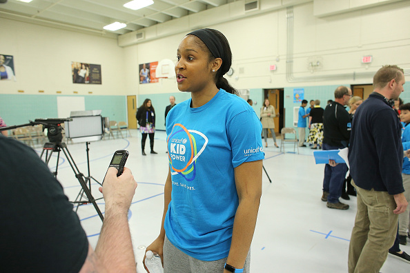 Maya Moore「UNICEF Kid Power Twin Cities Celebrates Impact of Local Kids Getting Active and Saving Lives」:写真・画像(18)[壁紙.com]