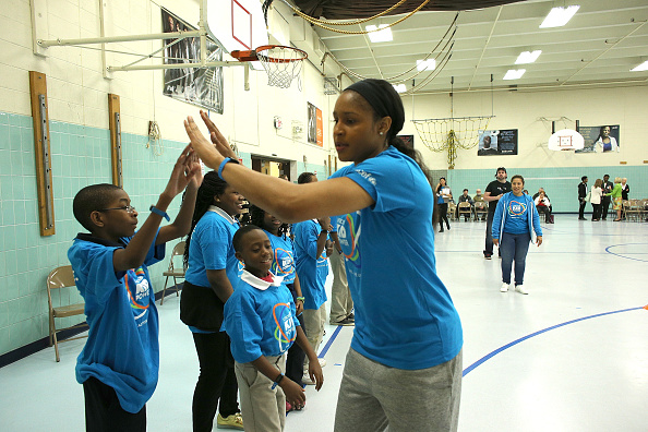 Maya Moore「UNICEF Kid Power Twin Cities Celebrates Impact of Local Kids Getting Active and Saving Lives」:写真・画像(16)[壁紙.com]