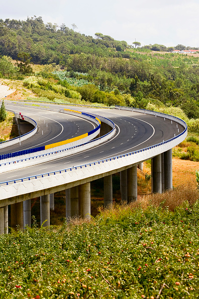 Empty Road「Viaduct, Highway, Portugal」:写真・画像(4)[壁紙.com]
