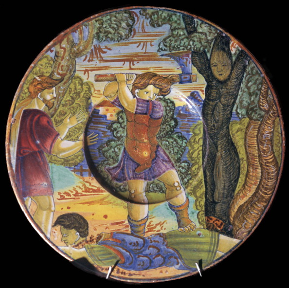 Grove「Italian earthenware plate, Erysichthon felling a tree in grove of Ceres, 16th century.」:写真・画像(16)[壁紙.com]
