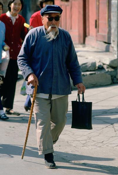 Tote Bag「Old Man in Beijing, China」:写真・画像(12)[壁紙.com]