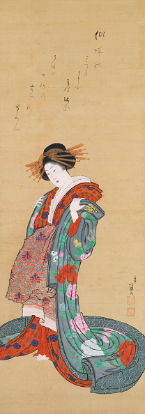 Edo Period「Courtesan.」:写真・画像(11)[壁紙.com]