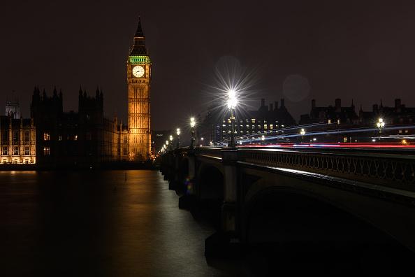都市景観「London Landmarks At Night」:写真・画像(0)[壁紙.com]