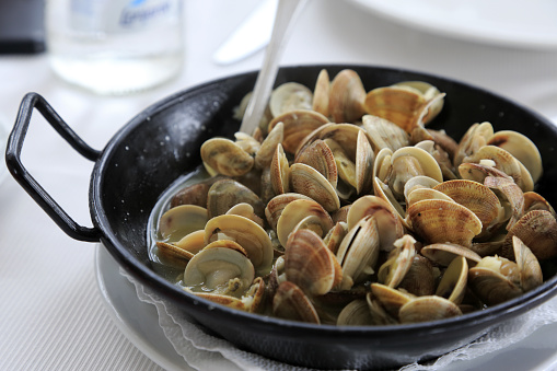 Clam - Seafood「sauteed clams」:スマホ壁紙(2)