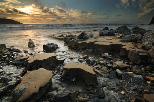 County Cork「Ireland, Munster, County Cork, Sunrise over sea」:スマホ壁紙(18)