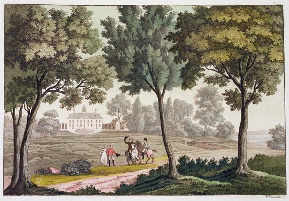 Plantation「George Washington's House At Mount Vernon Virginia USA circa 1820-1839」:写真・画像(11)[壁紙.com]