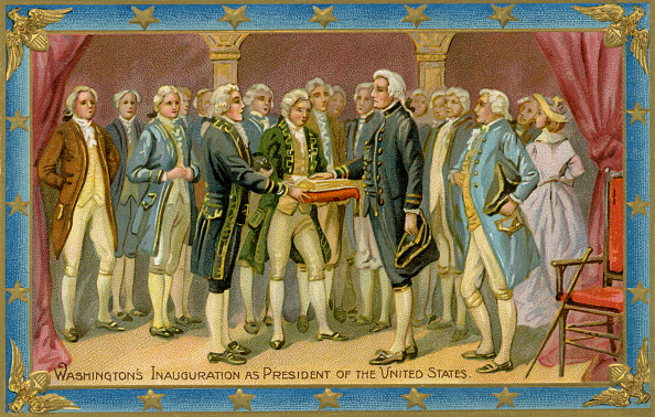 Presidential Inauguration「George Washington's presidential inauguration」:写真・画像(12)[壁紙.com]