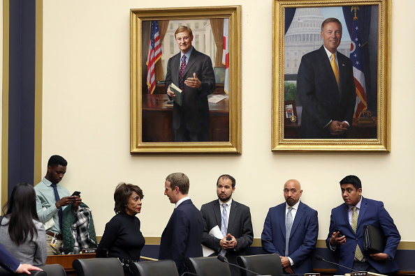 Rayburn House Office Building「Facebook CEO Mark Zuckerberg Testifies Before The House Financial Services Committee」:写真・画像(19)[壁紙.com]