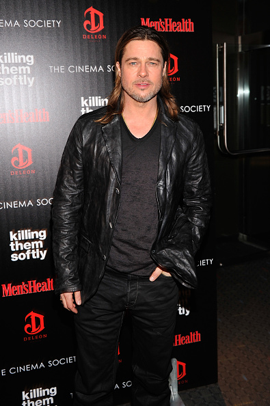 """Leather Jacket「The Cinema Society With Men's Health And DeLeon Host A Screening Of The Weinstein Company's """"Killing Them Softly"""" - Arrivals」:写真・画像(15)[壁紙.com]"""
