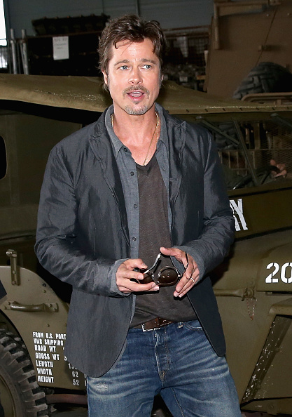 俳優「'Fury' Photo Call At The Tank Museum In Bovington, England」:写真・画像(16)[壁紙.com]