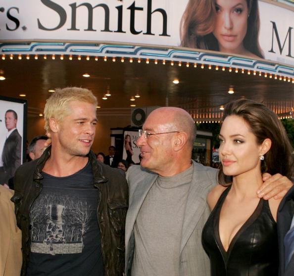 アンジェリーナ・ジョリー「20th Century Fox Premiere Of 'Mr. & Mrs. Smith ' - Arrivals」:写真・画像(9)[壁紙.com]