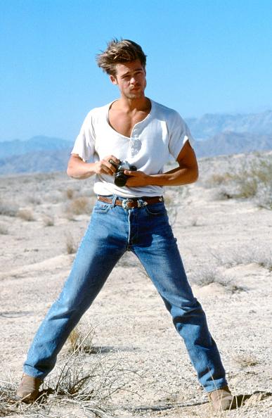 俳優「Actor Brad Pitt in his modelling days in the early 1990's. © Iain McKell / R」:写真・画像(9)[壁紙.com]