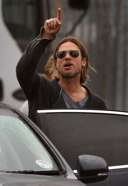 Adults Only「Filming Continues On World War Z Starring Brad Pitt In Glasgow」:写真・画像(2)[壁紙.com]