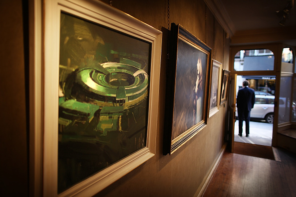 Diplomacy「Press Preview Of Paintings From Secret Intelligence Service Exhibition」:写真・画像(15)[壁紙.com]