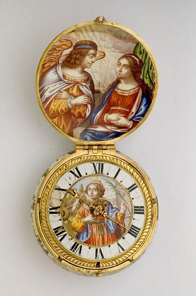Visit「Gold And Enamel Cased Verge Watch」:写真・画像(1)[壁紙.com]