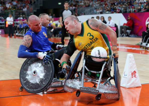 Paralympic Games「2012 London Paralympics - Day 8 - Wheelchair Rugby」:写真・画像(17)[壁紙.com]
