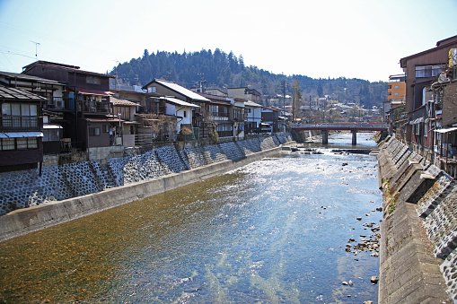 和風「Hida-Takayama Old Private Houses, Miyagawa River, Takayama, Gifu, Japan」:スマホ壁紙(9)