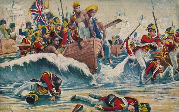 Patriotism「The Somerset Light Infantry The Desperate Landing At Aboukir Bay」:写真・画像(11)[壁紙.com]