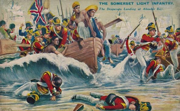 Patriotism「The Somerset Light Infantry The Desperate Landing At Aboukir Bay」:写真・画像(3)[壁紙.com]