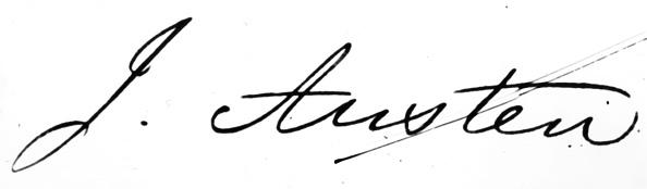 Writing「Austen's  Signature」:写真・画像(14)[壁紙.com]
