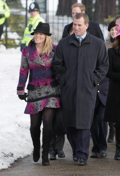 King's Lynn「Royals Attend Christmas Day Service At Sandringham」:写真・画像(3)[壁紙.com]