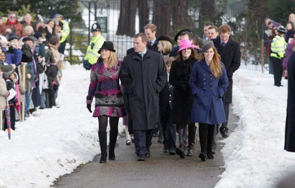 King's Lynn「Royals Attend Christmas Day Service At Sandringham」:写真・画像(8)[壁紙.com]