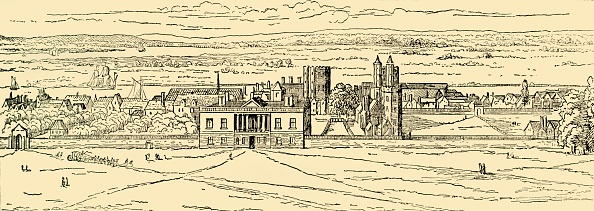 17th Century「Old View Of Greenwich Palace After Hollar」:写真・画像(4)[壁紙.com]