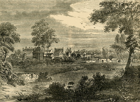 18th Century Style「Old View Of Kensington」:写真・画像(10)[壁紙.com]