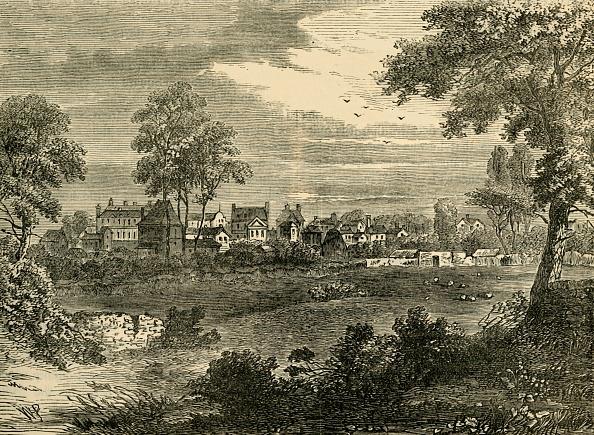 18th Century Style「Old View Of Kensington」:写真・画像(2)[壁紙.com]
