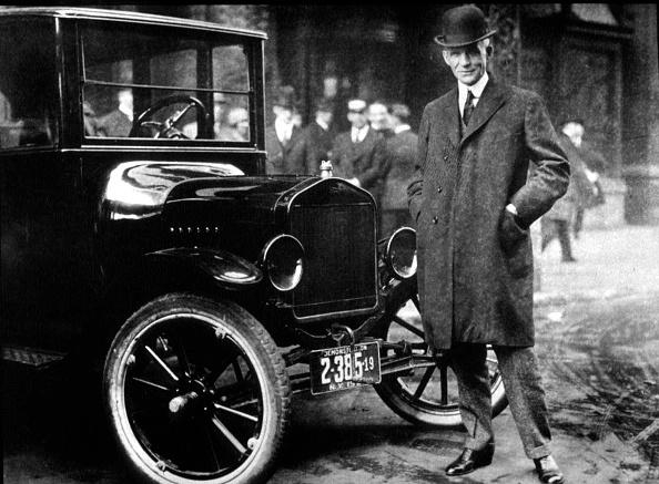 自動車「Henry Ford With His Model T...」:写真・画像(8)[壁紙.com]