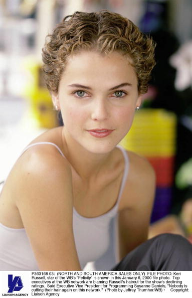 Cutting「Keri Russell Star Of The Wb's Felicit」:写真・画像(9)[壁紙.com]