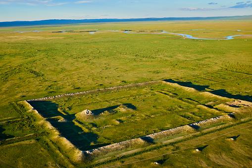 Orkhon Valley「Mongolia, Khara Balgas, ancient Uygur city」:スマホ壁紙(3)