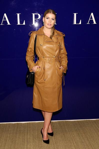 Leather「Ralph Lauren - Front Row - February 2018 - New York Fashion Week」:写真・画像(13)[壁紙.com]