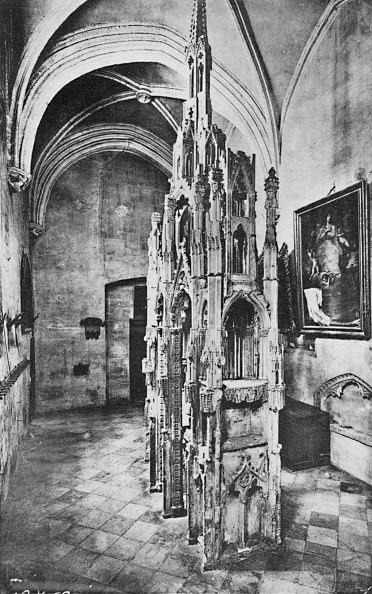Ceiling「Interior Tomb Of The Pope Jean Xxii」:写真・画像(18)[壁紙.com]