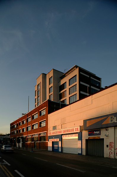 Copy Space「Building with evening light.」:写真・画像(3)[壁紙.com]